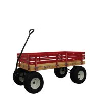 Model 830 red wagon for kids