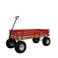 Model 858 red wagon for kids