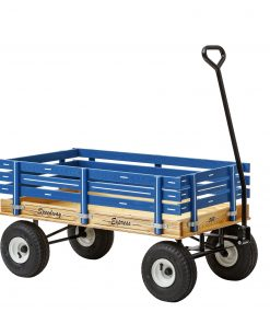 500 kids wood wagon