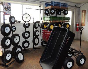 garden cart wagon history