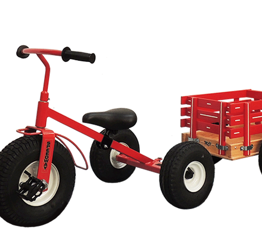 1200 flyer tricylce kids wagon