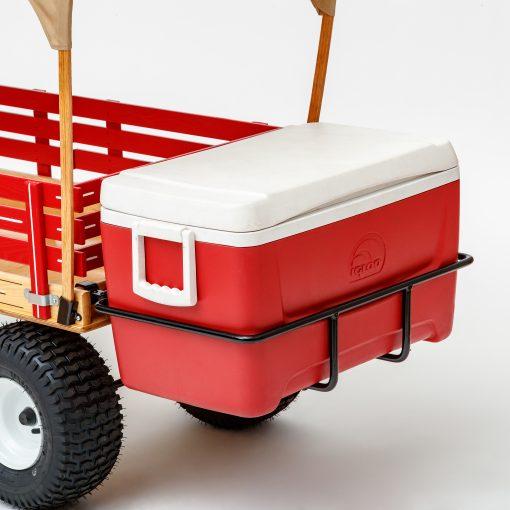 lunch box igloo holding bracket for wagon 2