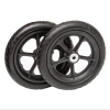 10psp12 flat free plastic spoke wheel ribbed 2 utility cart tire e1551293314208