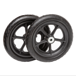 10psp12 flat free plastic spoke wheel ribbed 2 utility cart tire e1551293314208