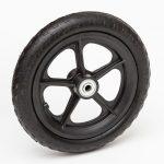 10 inch flat free spoke wheels