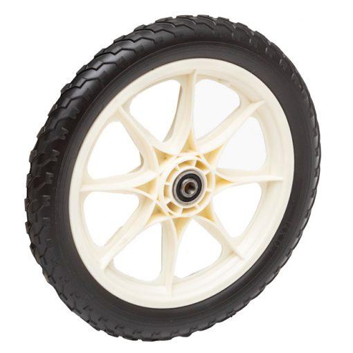 16 inch flat free spoke wheel