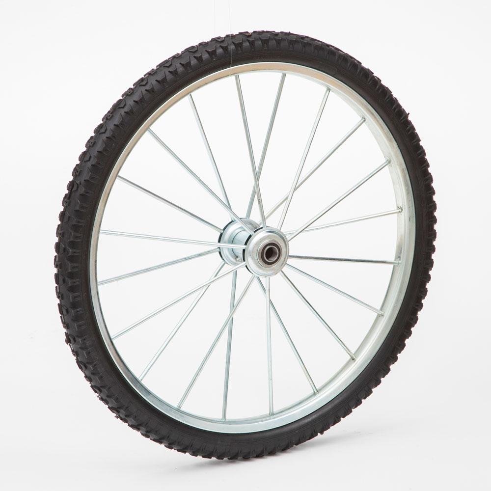 Pneumatic Metal Spoke Wheels