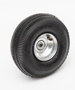 10225swlc 10 4 economy pneumatic wheel 4 10 3 50 4 sawtooth 4 ply 2 25 oc lawn dolly tire