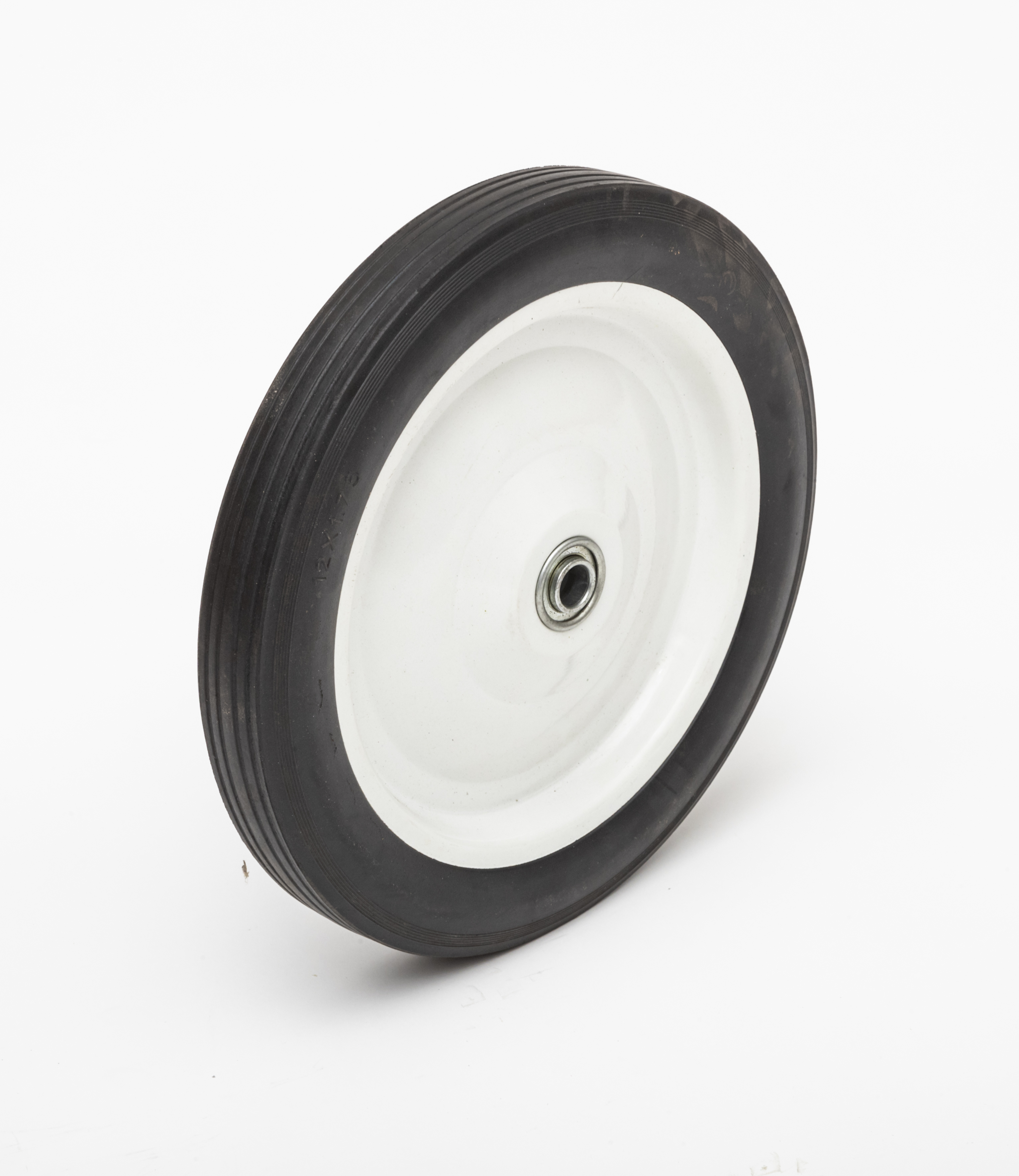 d38756af7538 12 inch Hard Rubber, Flat free, Wheel for Pressure Washer, Air Compressor,  Hand Truck Replacement, Wheel/Hub Size Options