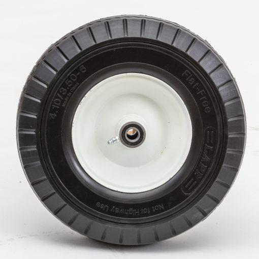 13ff30c 58 13 flat free wheel 3 50 6 sawtooth 3 25 oc utility barrow tire