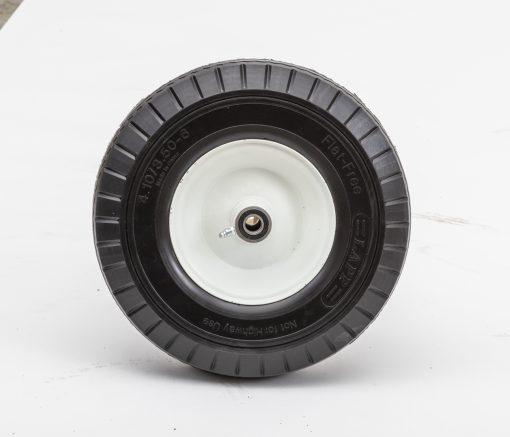 13ff40c 34 13 flat free wheel 3 50 6 sawtooth 4 oc lawn trundler tire