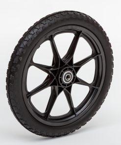 Flat Free Plastic Spoke Wheel
