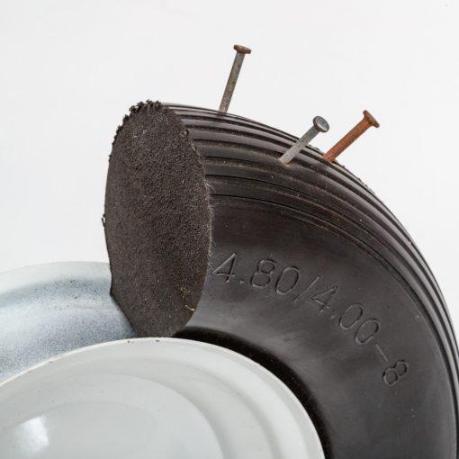 flat free wheelbarrow wheels